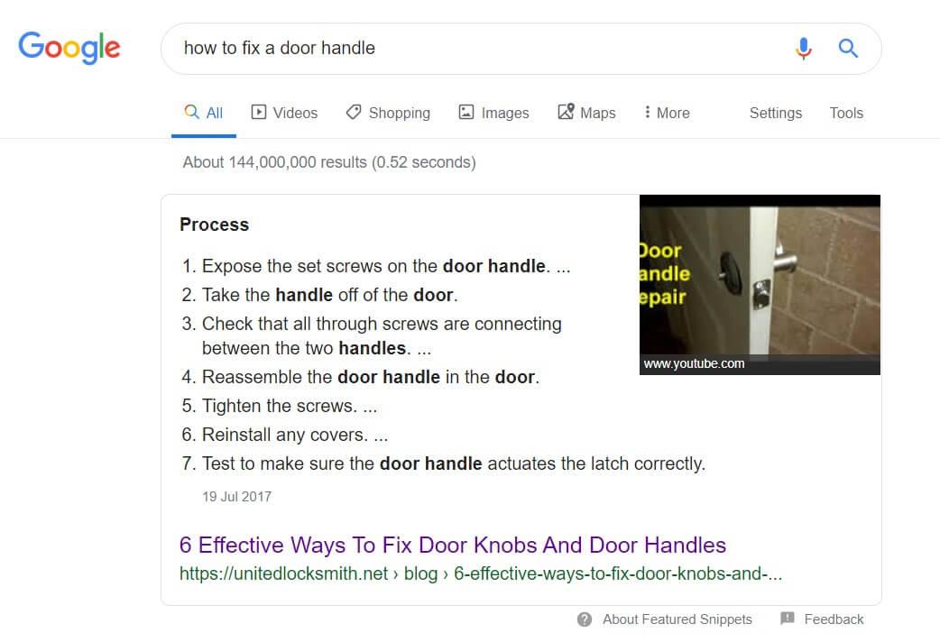 How To Fix A Door Handle