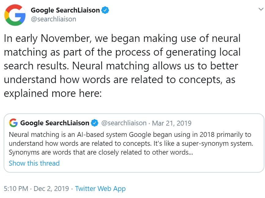 Google Searchliaison Tweet 20200103102334