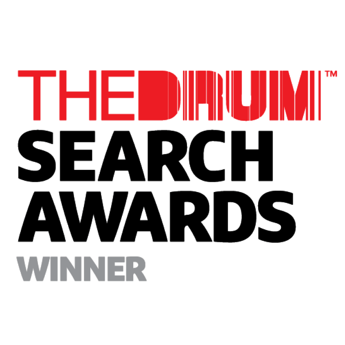 The Drum Search Awards Winner