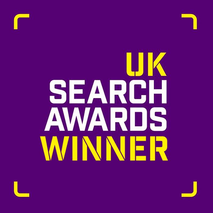 Uk Search Awards Winner